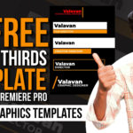 10 Free Lower Thirds Template For Adobe Premiere Pro | Motion Graphics Templates | Valavan Tutorials